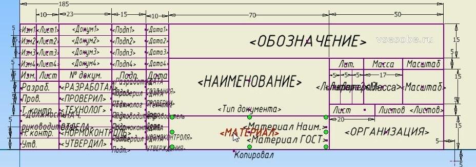 autodesk inventor чертеж по ЕСКД