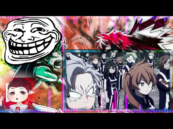 Моя Геройская Академия 3 сезон 3 серия обзор от OVERLORDS'a Boku no Hero Academia 3