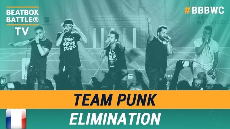 Team Punk from France - Crew Elimination - 5th Beatbox Battle World Championship