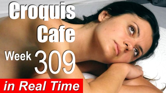 Croquis Cafe: Figure Drawing Resource No. 309 (new model, Mikym)