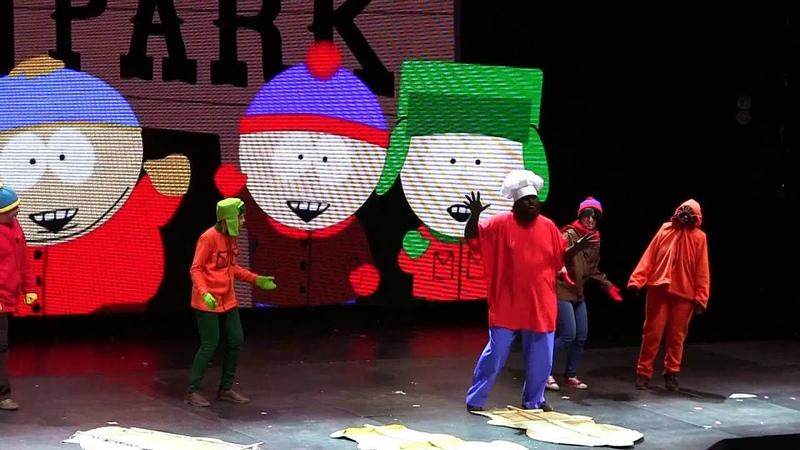 Аниме фестиваль в Воронеже 2013 - South Park (Южный парк сценка)