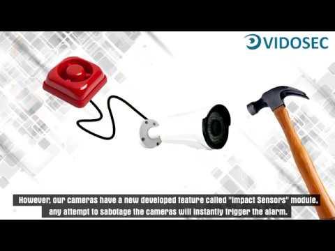VIDOSEC, Impact Sensors module speaker and titers
