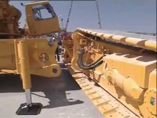 How to rig a Liebherr LR 1350-1