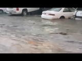 Heavy rain _u0026 floods in Saudi Arabia, south of Makkah - Taif