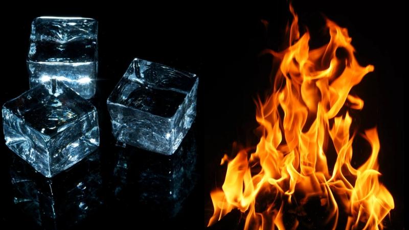 Огонь и Лёд.