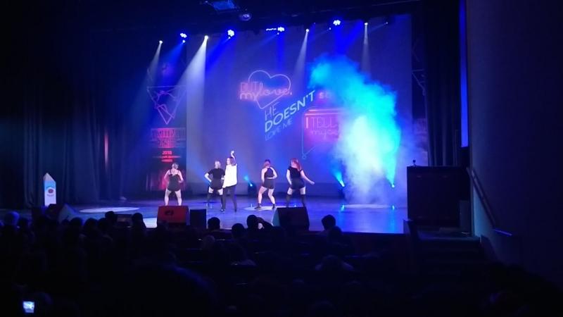 Шоу-балет Не Речитатив — MOVE — певец TaeMin Отрывок 2