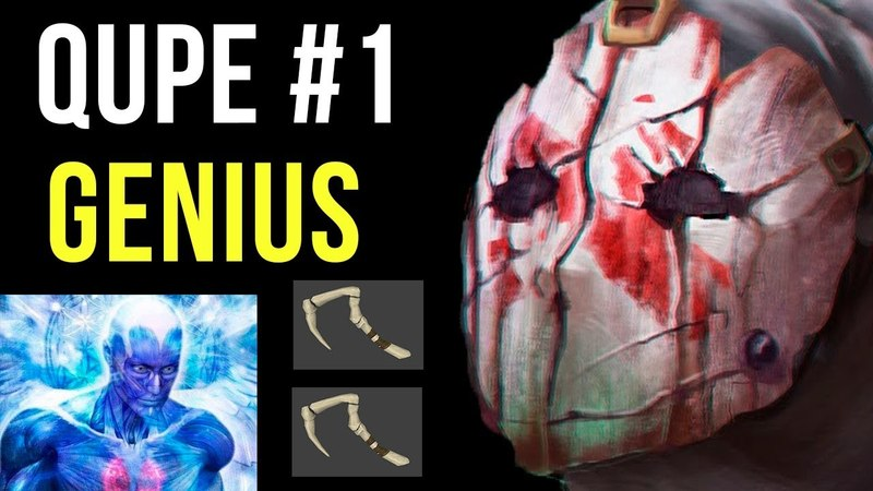 WTF Aim Hooks by Top 1 Pudge QUPE Genius Moves Gameplay Ranked Dota 2