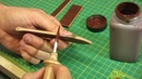 Making of simple leather watch strap - MK Leathers