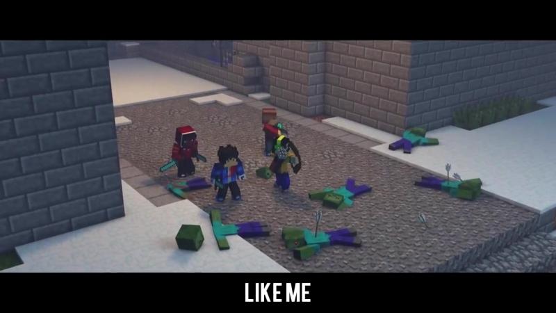 майнкрафт клип The Struggle - A Minecraft Original Music Video ♫