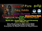 Pubg Mobile Live Stream Gameplay using Mobile, Trigger &amp Gyroscope only, Advance Room Match &amp Normal