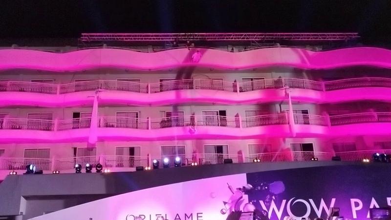 Менеджерская Конференция в Турции | Танцы на балконах отеля