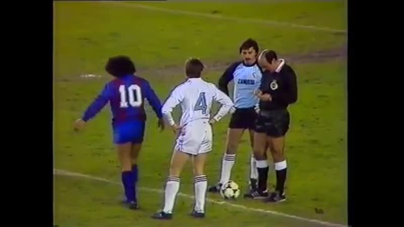 83-84. Реал Мадрид vs Барселона