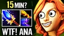 Windranger WTF Farm!? 15 min Agha MKB - Dota 2 Pro gameplay by OG.ANA