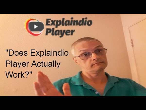 Does Explaindio Player Actually Work Full Software Demo Review