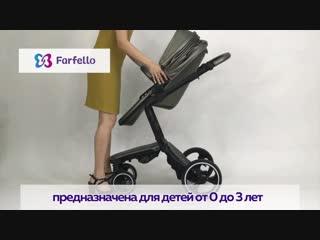 Детская коляска 2 в 1  hot mama