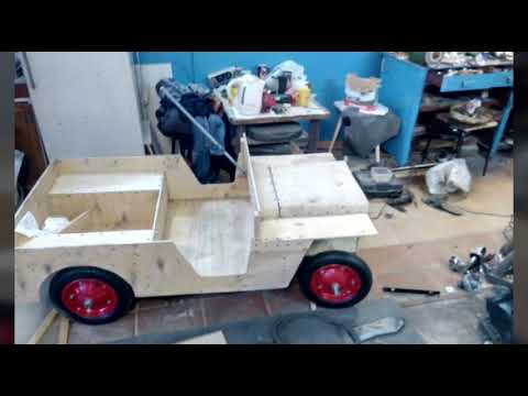 Создание детского электромобиля