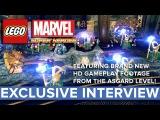 LEGO Marvel Super Heroes - Первый геймплейный ролик