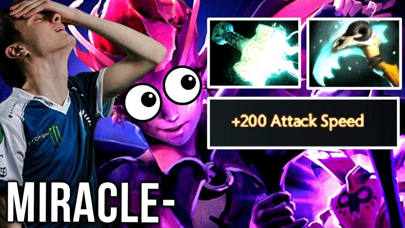 Miracle- Imba Dark Willow I Can Carry with Any Hero 200 Attack Speed - Dota 2