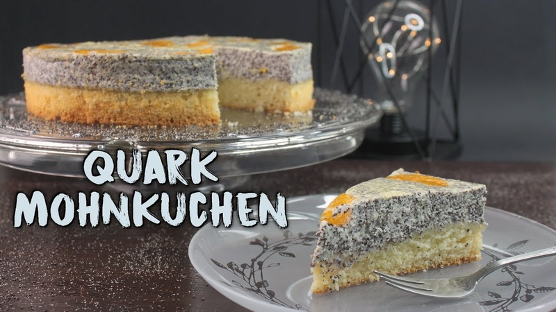 QUARK MOHNKUCHEN BACKEN
