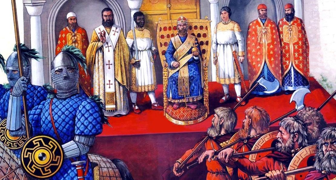 Полоцкие князья в Византии