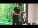 Hair tutorial Rosie Huntington Whiteleys secret ponytail trick