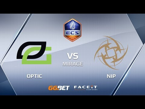OpTic vs NiP mirage ECS Season 6 Europe