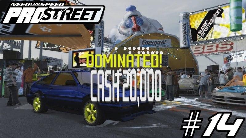 Need for Speed ProStreet 14 Заработываем деньги для тюнинга моих тачек