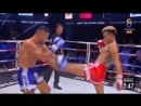 Чёткий финиш в начале первого раунда Muay Thai Super Champ