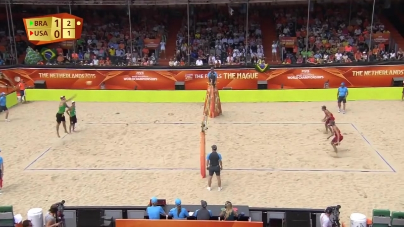 Alison-Bruno Schmidt vs Lucena-Brunner (SEMIFINALS) WC 2015