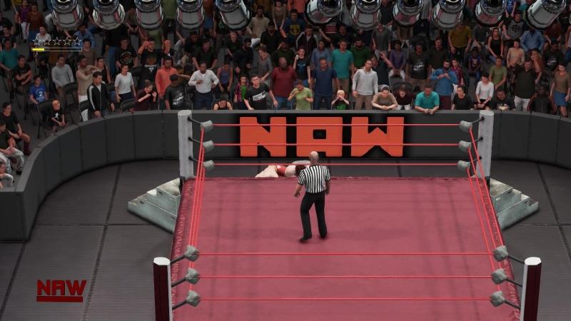 |WW| Cody Rhodes vs Dean Ambrose (Тут бомбанул Съмщик)
