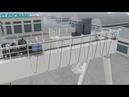 Installation of CWG Series Double Girder Gantry Crane with Heavy Duty Winch