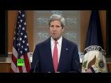 Госсекретарь США Джон Керри назвал телеканал RT «рупором пропаганды»