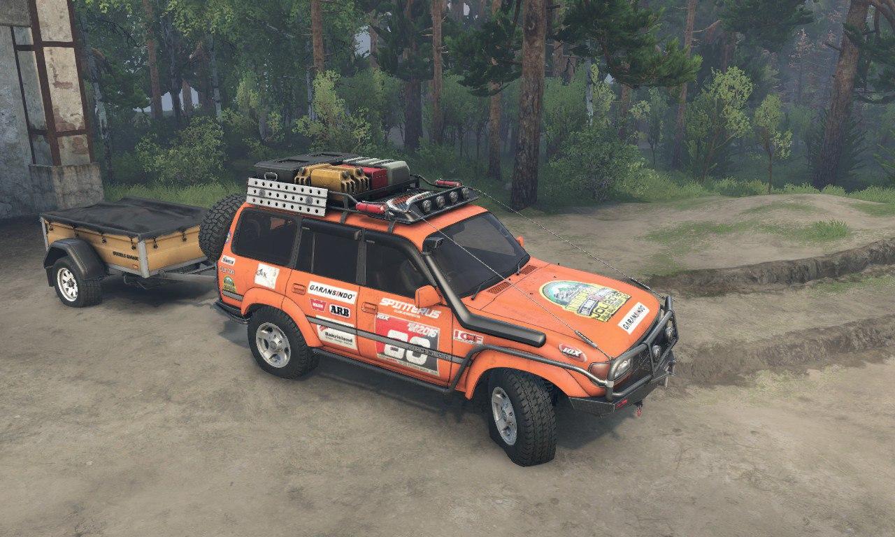 Toyota Land Cruiser 80 VX для 03.03.16 для Spintires - Скриншот 3