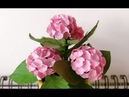 ABC TV | How To Make Miniature Hydrangea Paper Flower With Shape Punch - Craft Tutorial