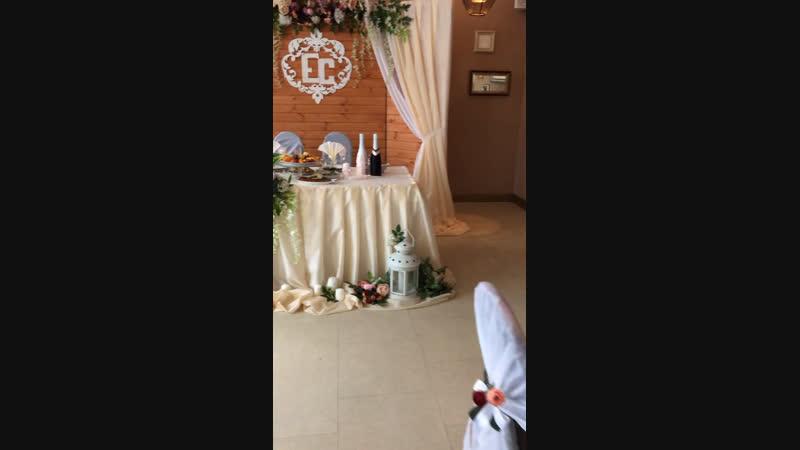 19 01 2019🤩 Подготовка к свадьбе ♥️ Ресторан Шафран