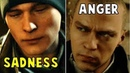 Connor Cries for Josh's Death vs Markus Doesn't Care Detroit Become Human