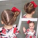 Плетения для маленьких принцесс ❣