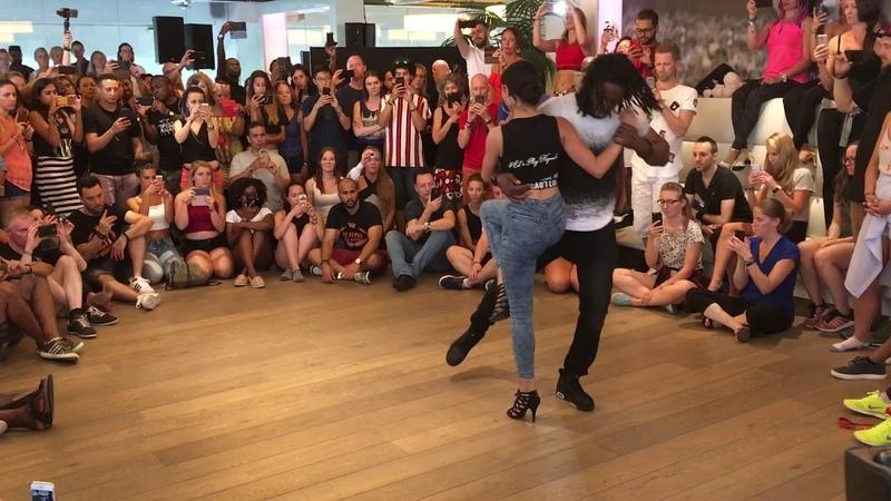 URBAN KIZ TRICKS jojo let's play kizomba Jonathan Mahoto I Love Kizomba Sensual Festival 2018