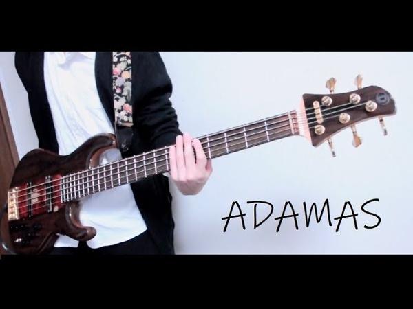 【ソードアート・オンラインOP】「ADAMAS/LiSA」をベースで弾いてみた@囲碁健