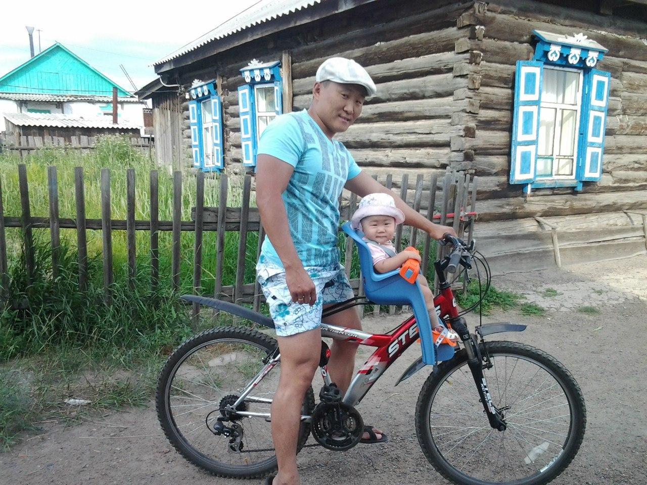 Фото детское сиденье на велосипед на раму