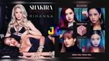 Shakira ft. Rihanna &amp Blackpink - Can't Remember To Forget You &amp DDU-DU DDU-DU (Mashup)