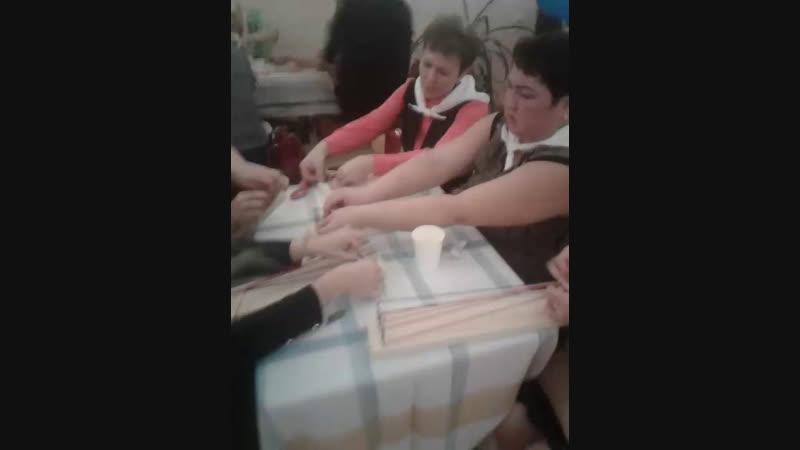 мастер-класс по ткачеству 😍😎