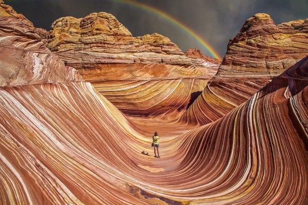 Завораживающие песчаные дюны, Штат Аризона, США