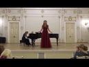 Vivaldi dall'opera Catone in Utica Se parto se resto Marzia Avrora Dudevan