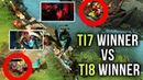 TI7 Winner Miracle vs TI8 Winner Topson Meet For The First Time On New Patch 7.20b Mid Battle Dota 2