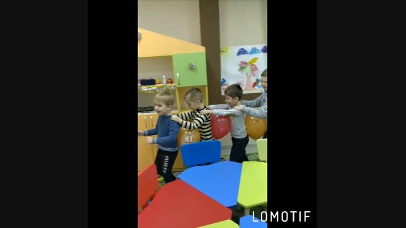 Развивающая Игра с воздушными шариками