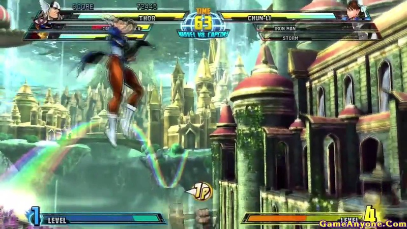Marvel vs Capcom 3: Fate of Two Worlds (CaptainAmerica, IronMan, Thor Pt. 1/2)