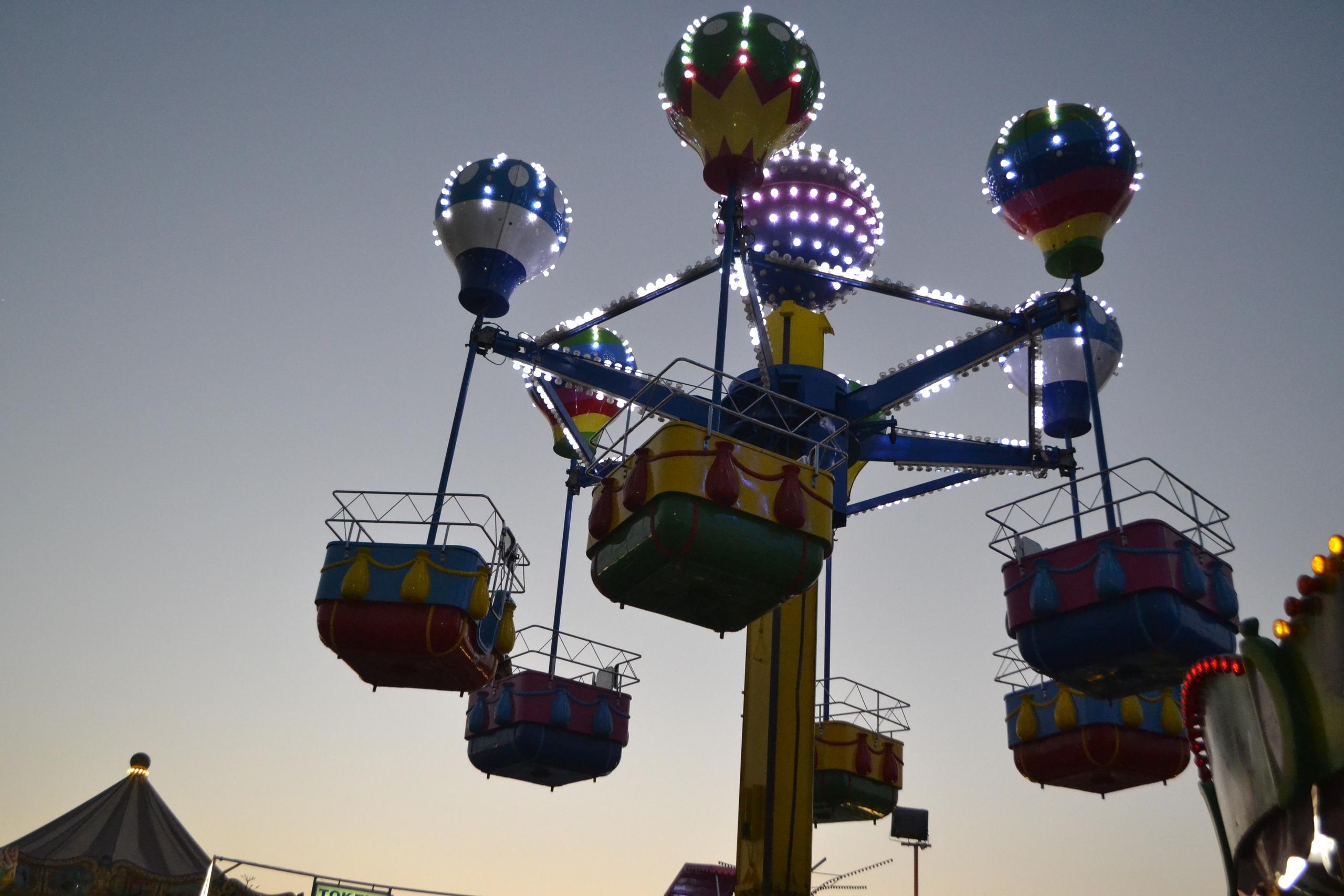 Елена Руденко (Валтея). Лунапарк Parko Paliatso в Айия-Напе (Кипр) фото. 58CscdjPlSM