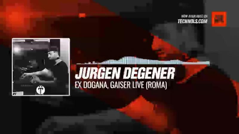 Jurgen Degener - Ex Dogana, Gaiser Live (Roma) Periscope techno music