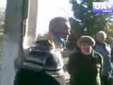Зугрес: привязали к столбу добровольца батальона